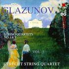 Glazunov: String Quartets, Vol. 5 (CD, Mar-2012, MDG)