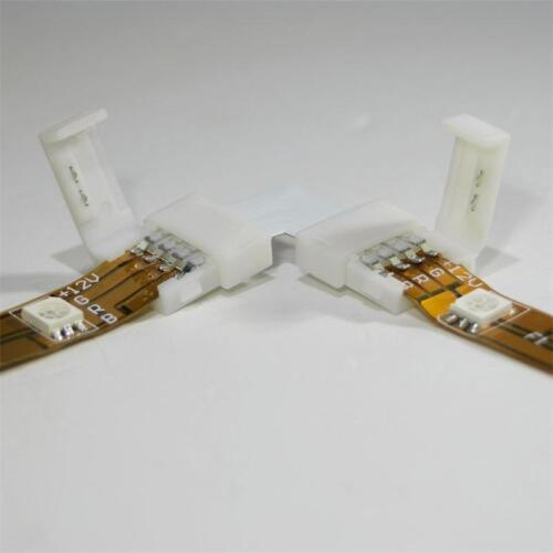 L-Verbinder Eckverbinder für RGB SMD LED Stripe Streifen Direktverbinder