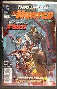 THRESHOLD-Presents-The-Hunted-3-VF-nm-1-DIBUJO-DC-Comics-NUEVO-52