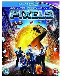 PIXELS-BLU-RAY-NEW-SEALED-DVD-UK-STOCK