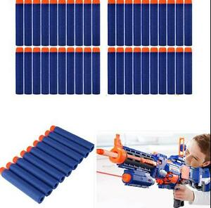 Round Head Blasters For NERF N-Strike 100pcs Kids Refill Toy Gun Bullet Darts