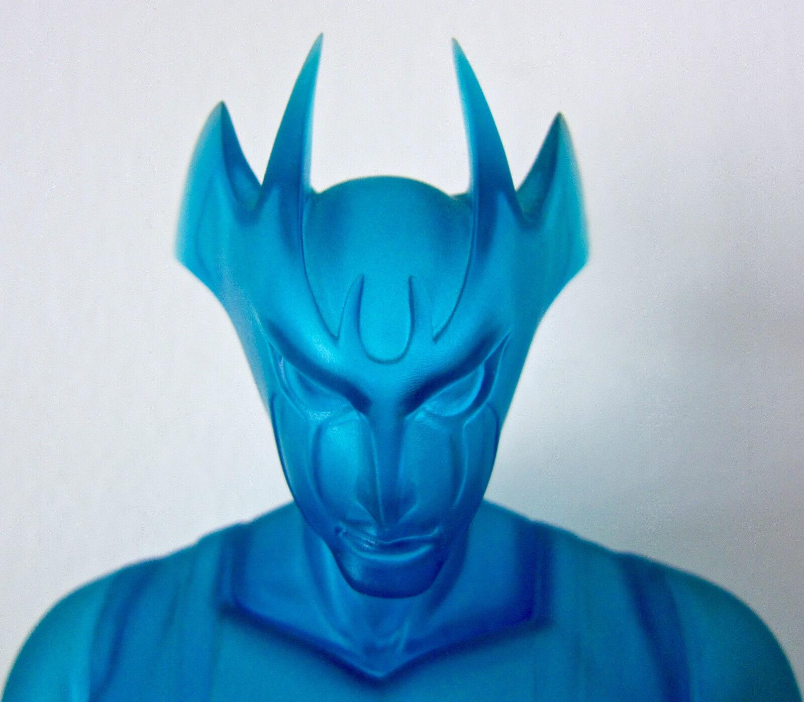 Devilman. 15  Vintage, Azul Translúcido Vinilo. MARMIT 1999