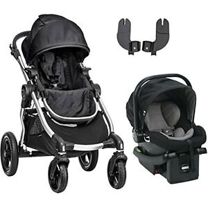 Baby Jogger City Select Travel System In Onyx With