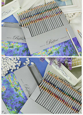 Marco Raffine - 72 Color Drawing Pencils set for Artist Sketch (7100-72CB) Safe