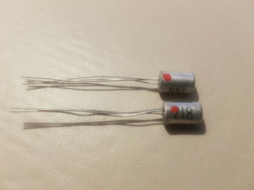 121-08 NEWMARKET NKT218 PNP TRANSISTOR NOS 2 x Pieces *FREE DELIVERY* Loc