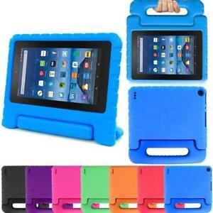 da772c478484 Kids Shock Proof EVA Foam Handle Case Cover For Amazon Kindle Fire ...