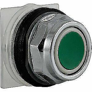 SCHNEIDER ELECTRIC 9001KR1G Non-Illum Push Button Operator,Green
