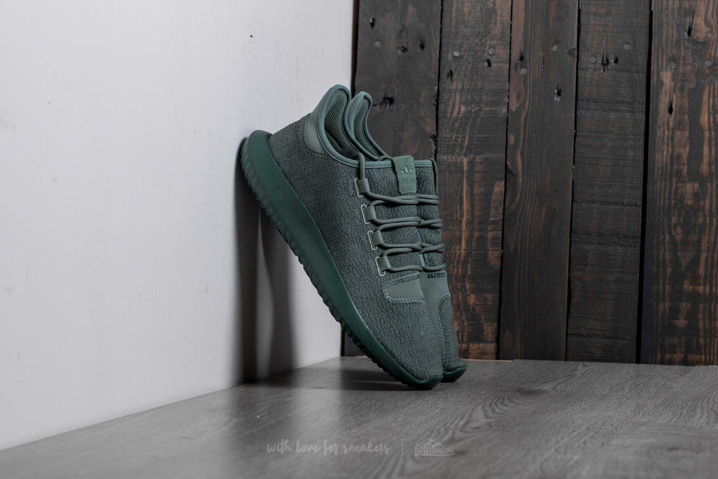 Adidas Originals Tubular Shadow Trace Green Men's 13 Athletic Sneakers BY3573
