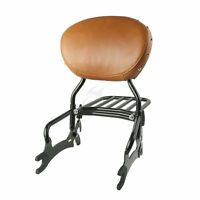 12 Backrest Sissy Bar + Luggage Rack For Indian Chief Classic Vintage 2014-2017