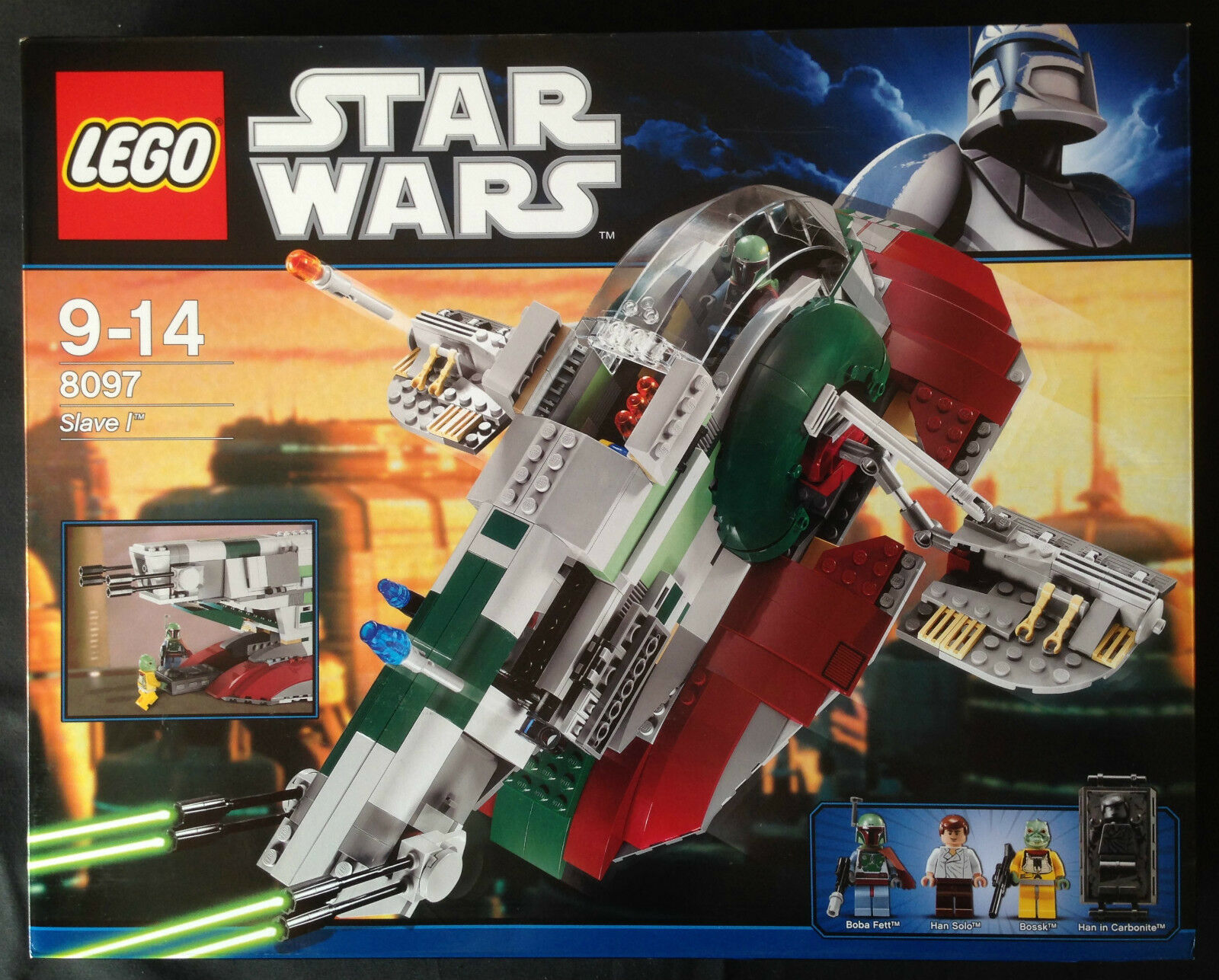 LEGO STAR WARS 8097 - SLAVE I  (3rd EDITION)  NUEVO SELLADO   nouveau SEALED  en ligne