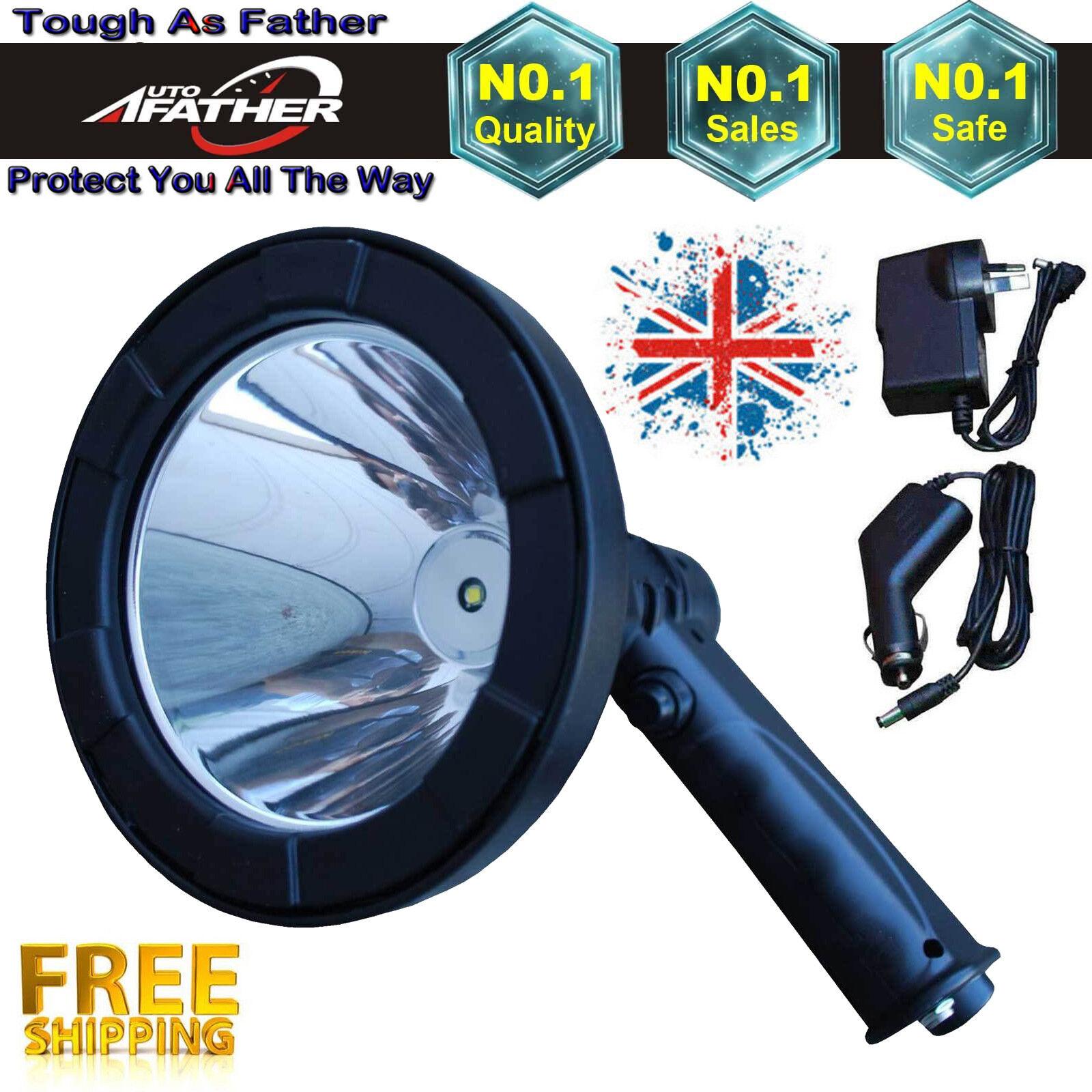 Cree LED 12V Spotlight Lamp Torch Sporting Hunting Shooting Spot Light 100W New