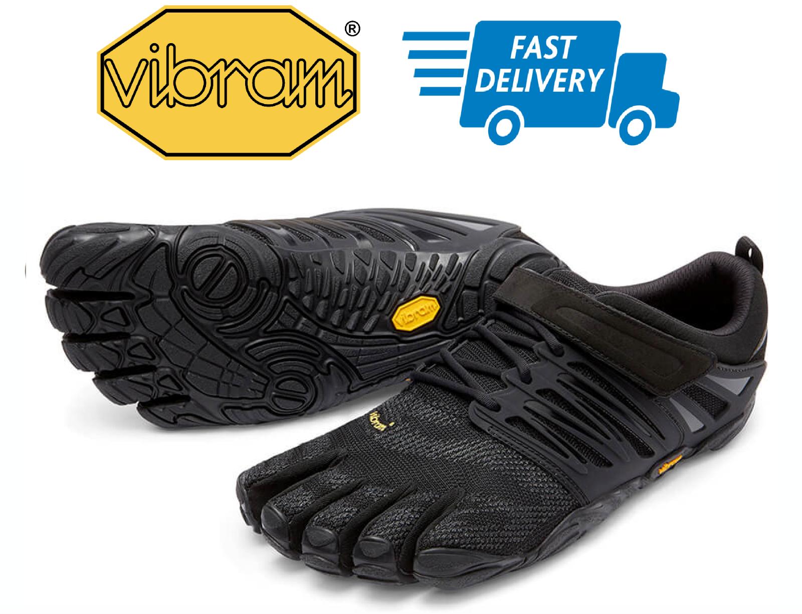VIBRAM FiveFingers V-TRAIN BLACKOUT Men's Fitness shoes 40-46EU NEW
