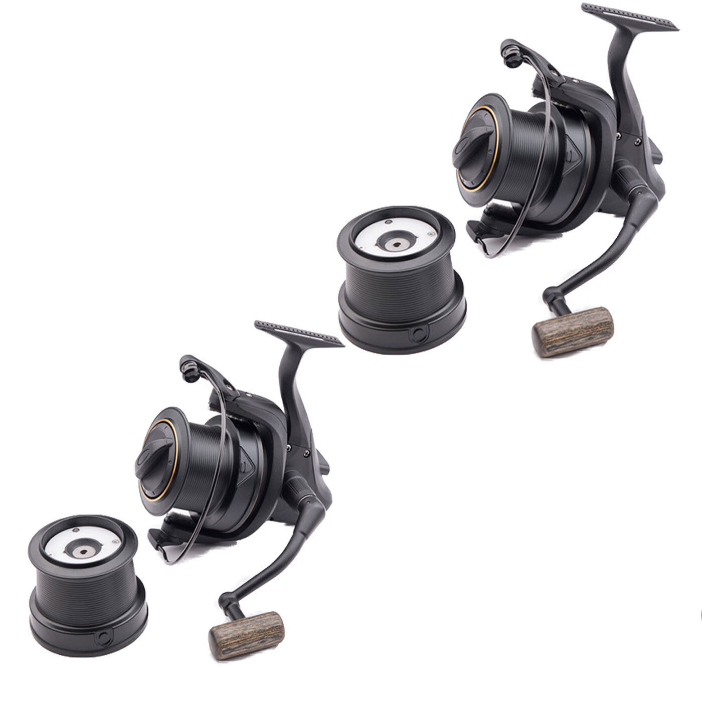 Wychwood Riot Big Pit 65S Carp of Reel -Set of Carp 2- Brand New - Free Delivery 7732ad