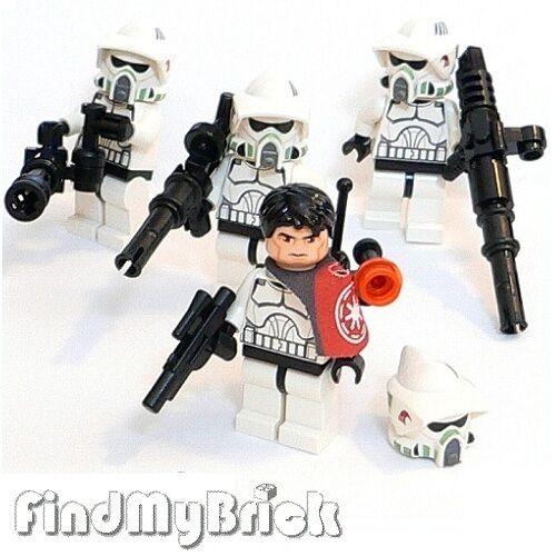 SW147F x4 Lego Star Troopers Wars 4x Arf Troopers Star Minifiguren 7914 Neu 9b7a9e