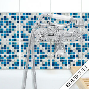 Originale boubouki mosaico adesivo adesivo per piastrle for Mosaico adesivo per cucina