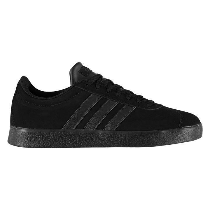 Adidas vl corte nabuk scarpe da ginnastica uomo usa 12,5 ue 47.1 3 arbitro | Per Vincere Una Ammirazione Alto  | Maschio/Ragazze Scarpa