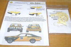 Mequepe Opel Kadett GT//E Rallye Portugal 1976 1:43 Trofeu TR 2101