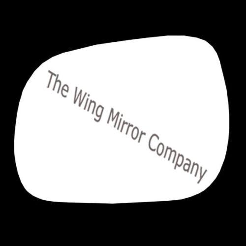 TOYOTA RAV 4 2006-2015 PASSENGER/LEFT SIDE DOOR/WING MIRROR GLASS SILVER CONVEX