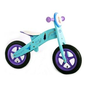 Balance Bike 12 Frozen Disney Girl Kid Wooden Bicycle 12 Inch Ebay