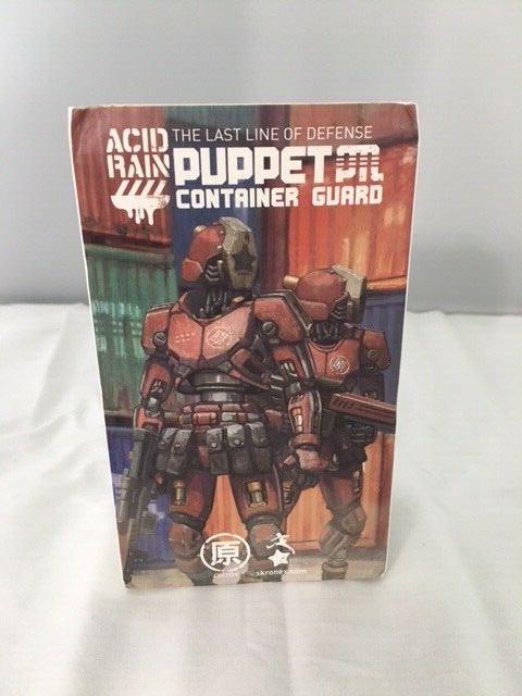 OriSpielzeug Acid Rain Puppet Container Guard Figure