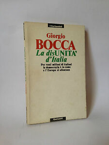 LA-DISUNITA-039-D-039-ITALIA-G-Bocca-Garzanti-1990