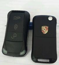 Clé Complète Télécommande  avc éléctronique Pour Porsche Cayenne 3 Bouton 433MHZ