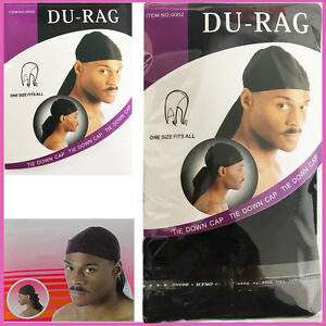 Bien Rag Doo Durag Cap Head Du Crâne Enveloppe Ne Bandana Hommes Sports Headwear Écharpe Motard-afficher Le Titre D'origine