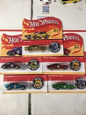 6-10 1:64 HOT WHEELS 50th Anniversary Favorites Real Riders Set 5 PCS