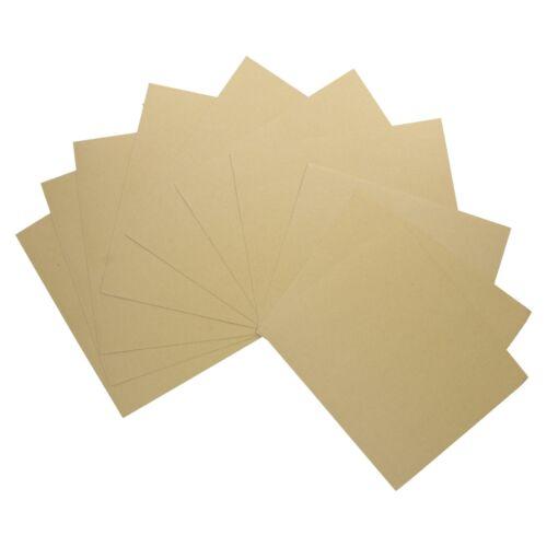 20pc Assortiment papier de verre Feuilles abrasives pour Métal Bois Plastique Moyen Grain 100