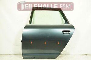Audi A6 4F C6 Avant Tür hinten links Door Fahrerseite Nordlichtblau LZ7R