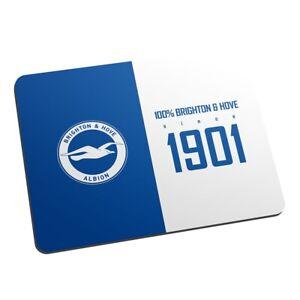 Mode 2019 Brighton & Hove Albion F.c - Personnalisé Tapis De Souris (100%)-afficher Le Titre D'origine Ture 100% Garantie