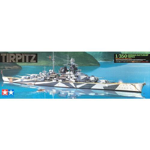 Tamiya 78015 German Tirpitz 1:350 Scale Battleship Kit Tamiya