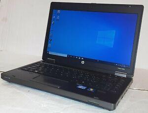 Red HP ProBook 6360b i3-2310M 2.10GHz CPU 4GB RAM 250GB Webcam Bluetooth Win 10