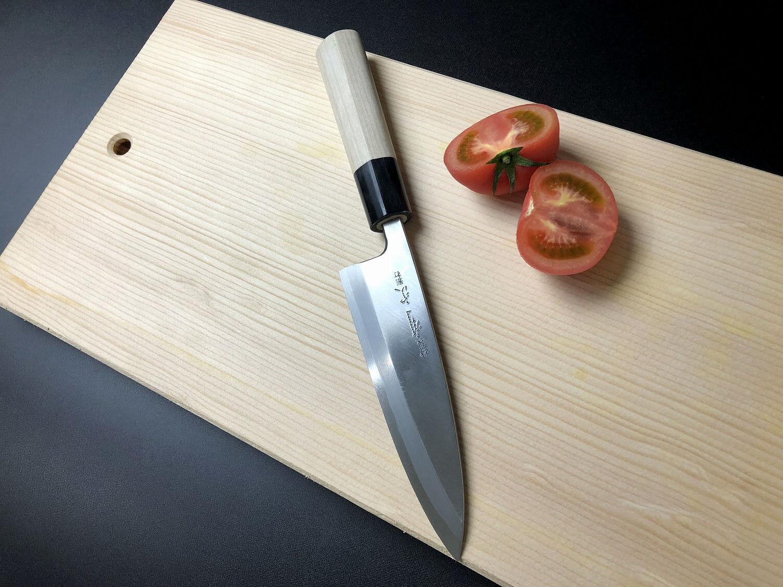 ARITSUGU Blau Steel Japanese Chef Kitchen Knife Forged Deba Deba Deba 150 mm 5.90  AT020 83808d