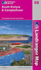 South Kintyre and Campbeltown by Ordnance Survey (Sheet map, folded, 2002)