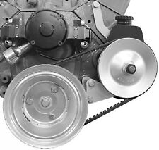 Small Block Chevy Electric Water Pump Power Steering & Alternator Bracket SBC