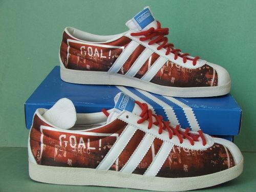 Súper GAZELLE rara ~ Adidas Vintage GAZELLE Súper ZAPATILLAS SAMBA Chile Superstar Zapatos ~ hombres 11.5 e1031f