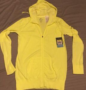 nike hoodie yellow womens