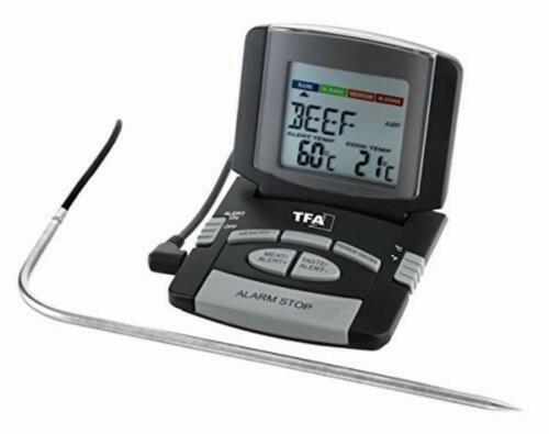 TFA Dostmann Digital Bratenthermometer Kontrol Kerntemperatur Fleischthermometer