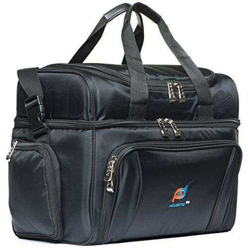 Mojecto Large Cooler Bag 15x12x9 Inches Two Insulated Compartments Heavy Duty Ebay