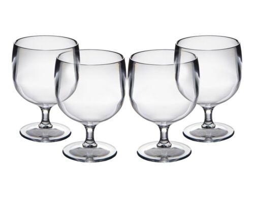 Set di Roltex Policarbonato Infrangibile Riutilizzabile in Plastica Impilabile bicchieri da vino