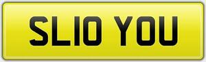 SLOW-YOU-FUNNY-BIG-FAST-911-CAR-REG-NUMBER-PLATE-SL10-YOU-GTR-BAD-GTS-FLY-WRX
