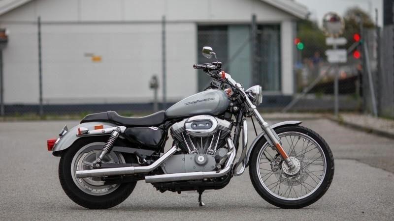 Harley-Davidson, XL883C Sportster Custom, ccm 883