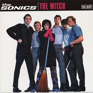 THE-SONICS-The-Witch-4-track-vinyl-7-034-EP-NEW-garage-punk-unreleased-tracks