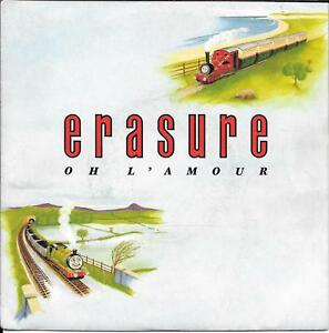 45-TOURS-7-034-SINGLE-ERASURE-OH-L-039-AMOUR-MARCH-ON-DOWN-THE-LINE-1986
