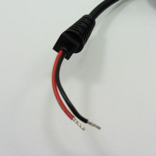 DC 2.2 mm x 5.5 mm angle Male Plug Power Jack Cctv Connecteur Câble 1.2 m