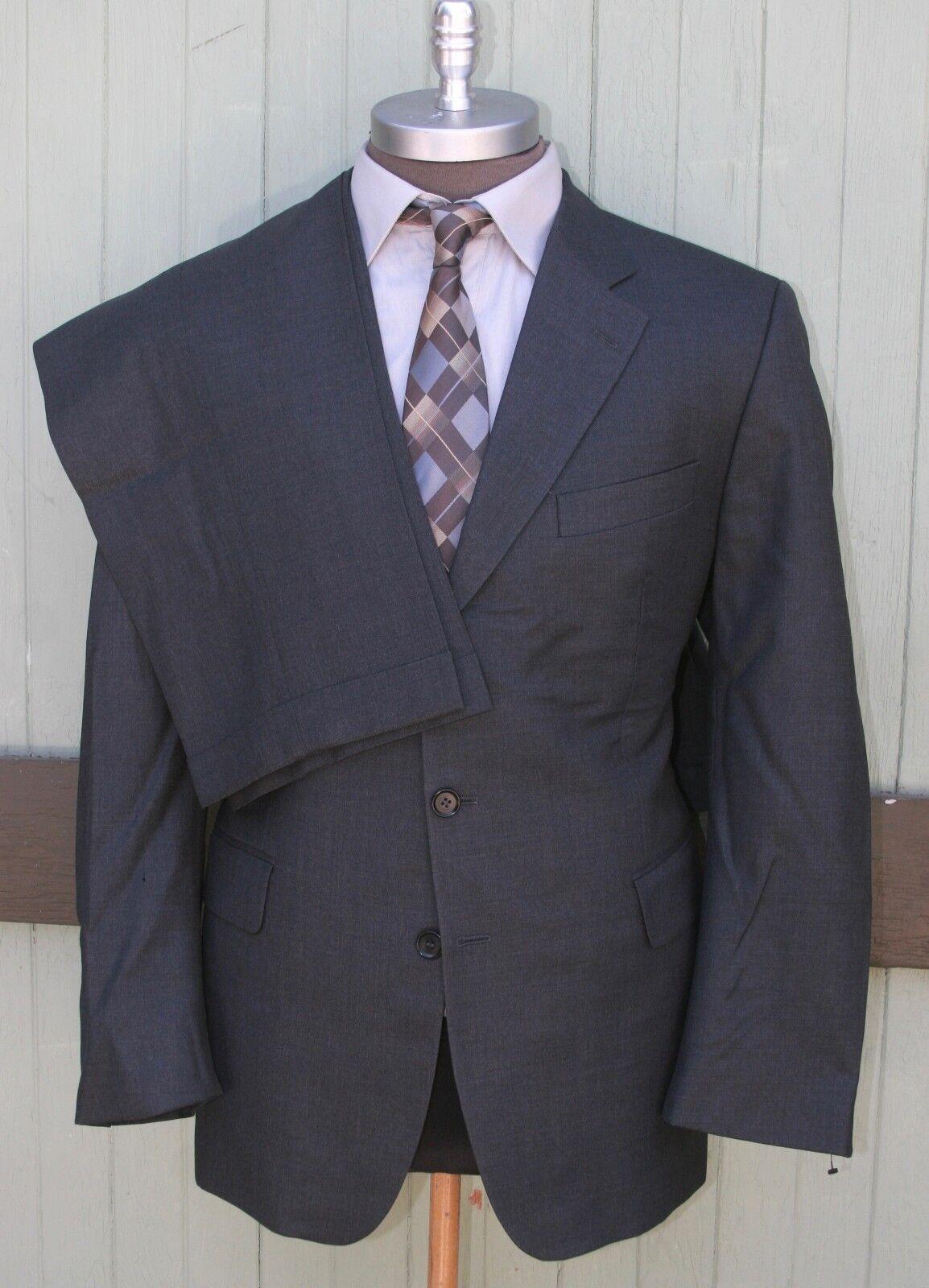 Charles Tyrwhitt Jermyn London English Cloth Wool Three Button Pleat Cuffed 44R