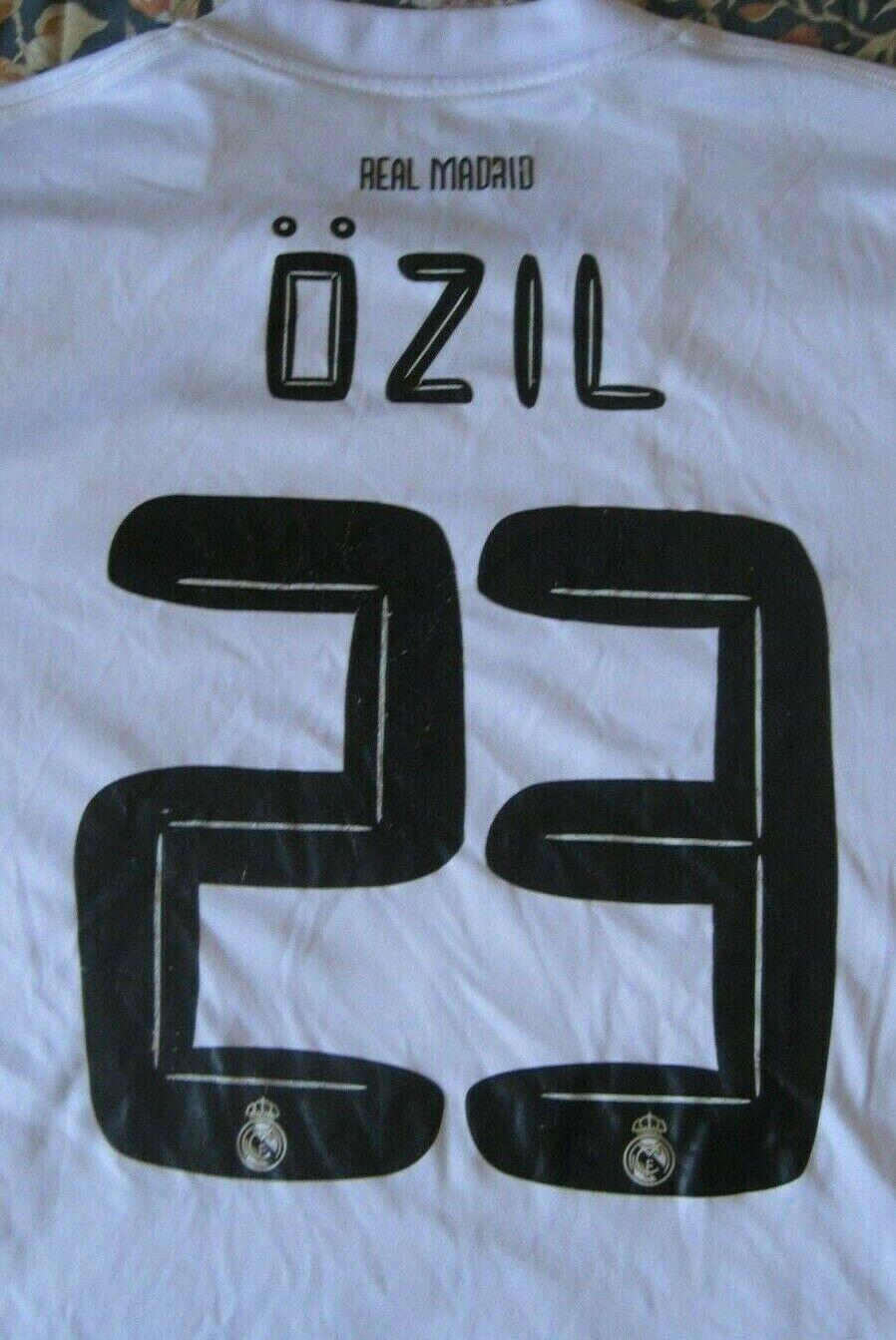 Camiseta Trikot Shirt Maglia REAL MADRID 23 ÖZIL Mesut Adidas 2XL Season 2011