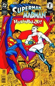 SUPERMAN MADMAN HULLABALOO 1-3 NEAR MINT COMPLETE SET 1997