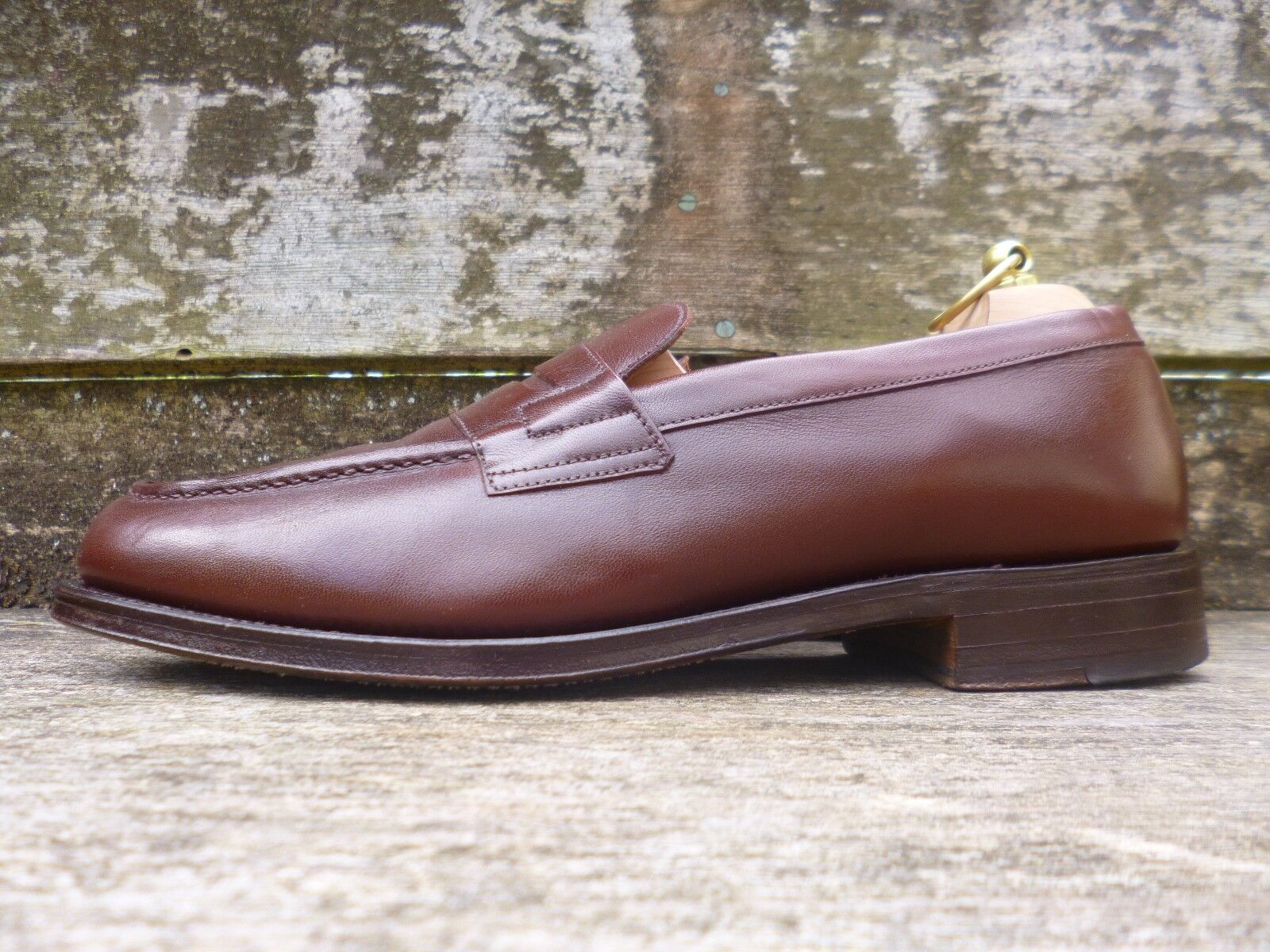 CHEANEY / CHURCH VINTAGE LOAFERS – BROWN / TAN EXCELLENT - UK 8 – EXCELLENT TAN CONDITION bda5f5